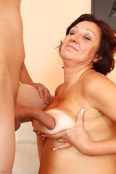 Huge juggs mature tit